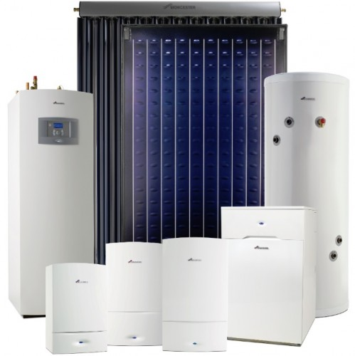 Worcester Gas Oil GSHP and Solar Range