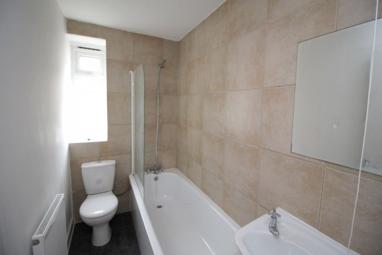 Bathroom installation as part of full house refurb by BSW