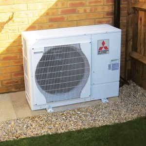 Mitsibushi Air Source Heat Pump
