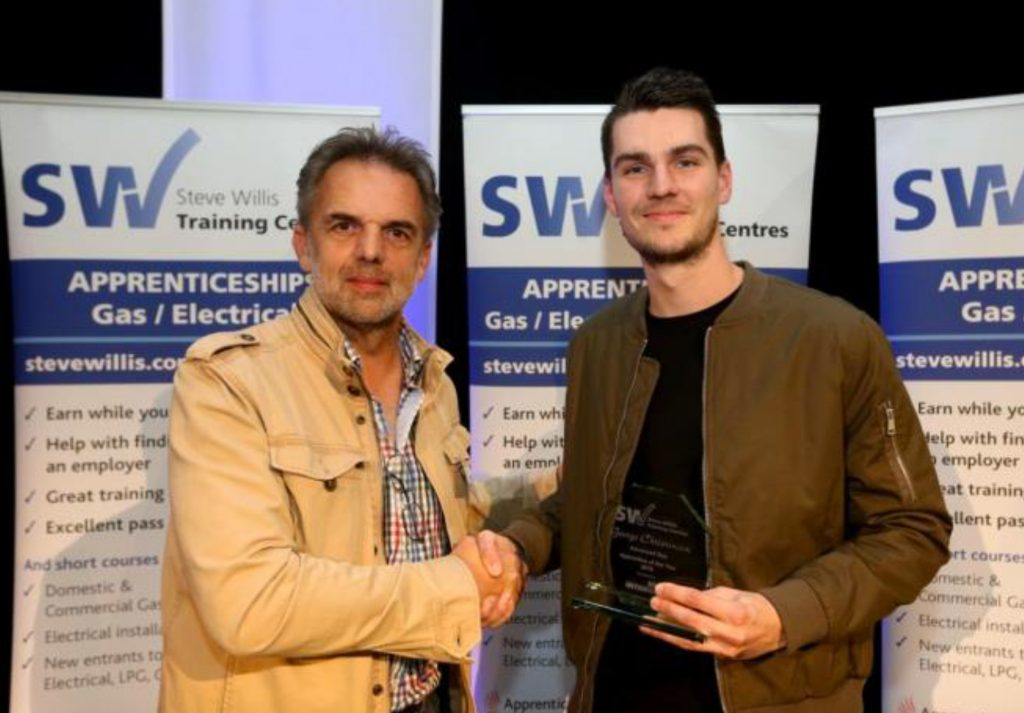 George Christensen - BSW Energy - Advanced Gas Apprentice of the Year 2016.